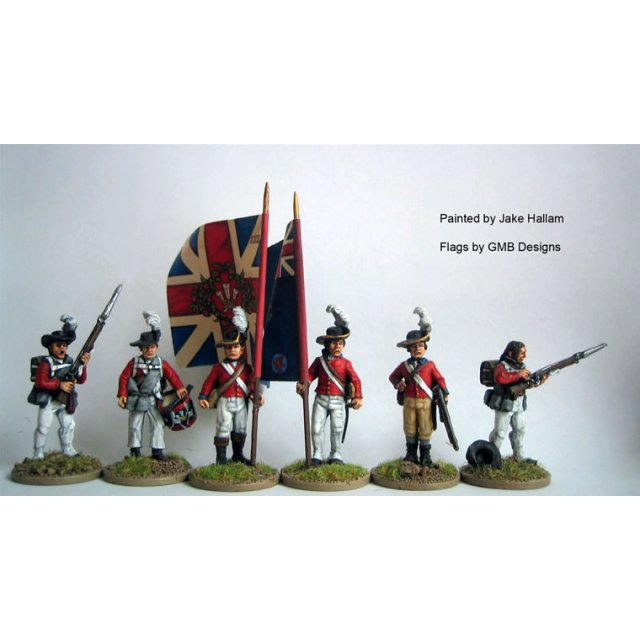 British 23rd Royal Welch Fusiliers Command in 'roundabouts' stan