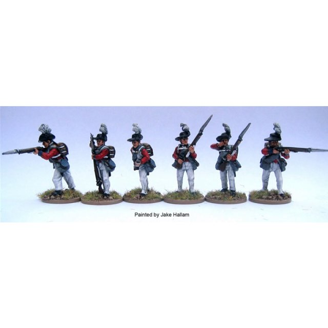 British 23rd Royal Welch Fusiliers Firing line in &#39roundadout