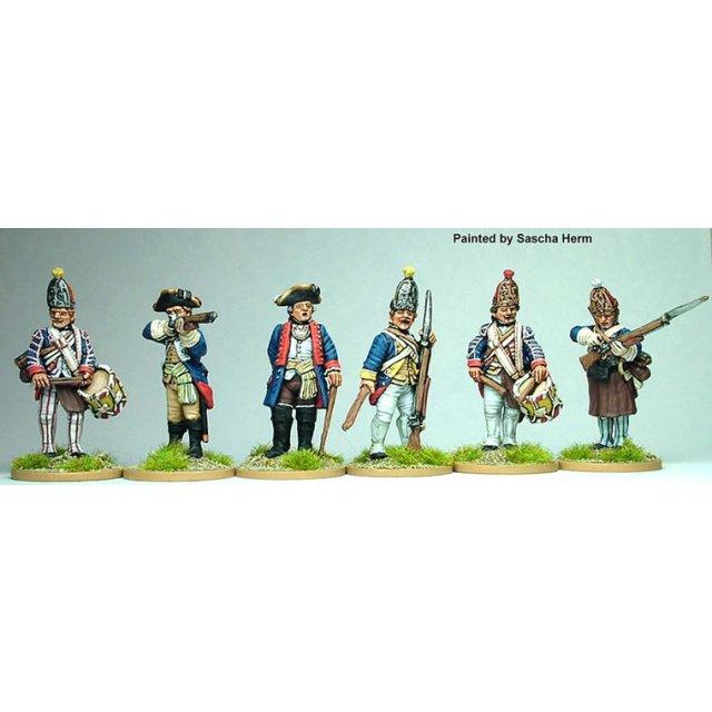 Hesse-Cassel Grenadier command standing