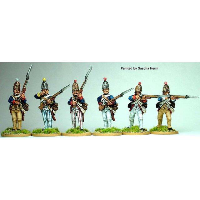 Hesse-Cassel Grenadier firing line