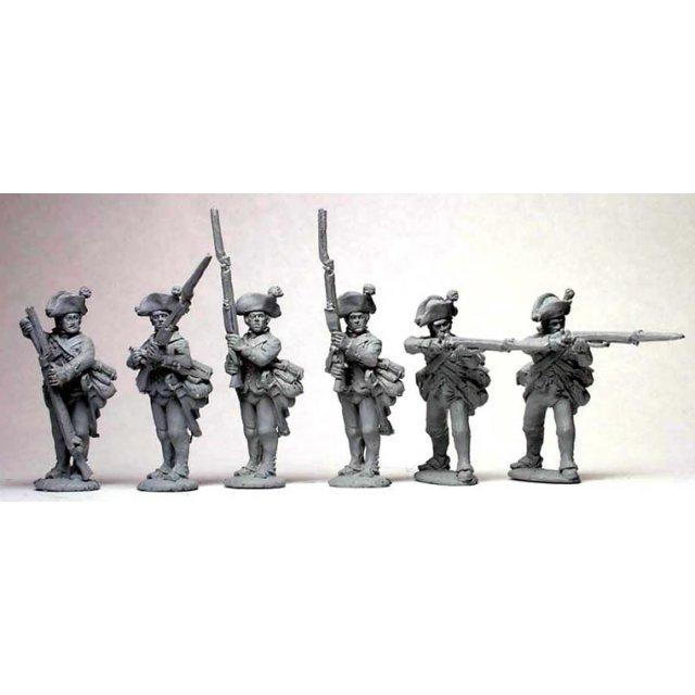 Hesse-Cassel Musketeer firing line