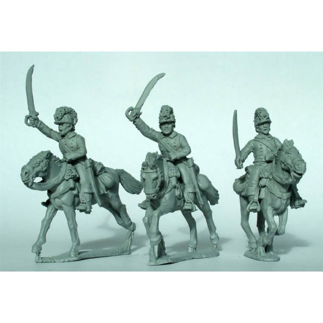 British Legion cavalry charging
