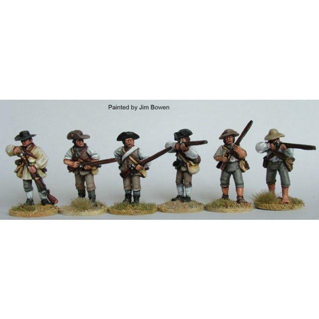 Southern Militia firing line