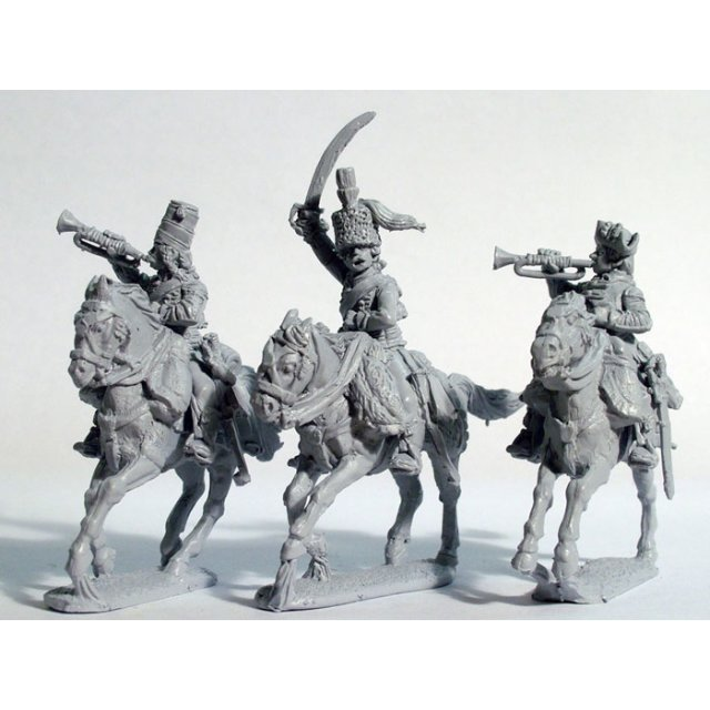 Hussar command without pelisse, galloping
