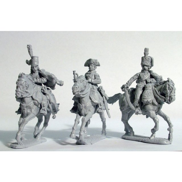 Hussar command with pelisse, galloping