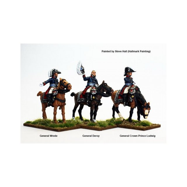 High Command mounted (Wrede, Deroy, Crown Prince Ludwig