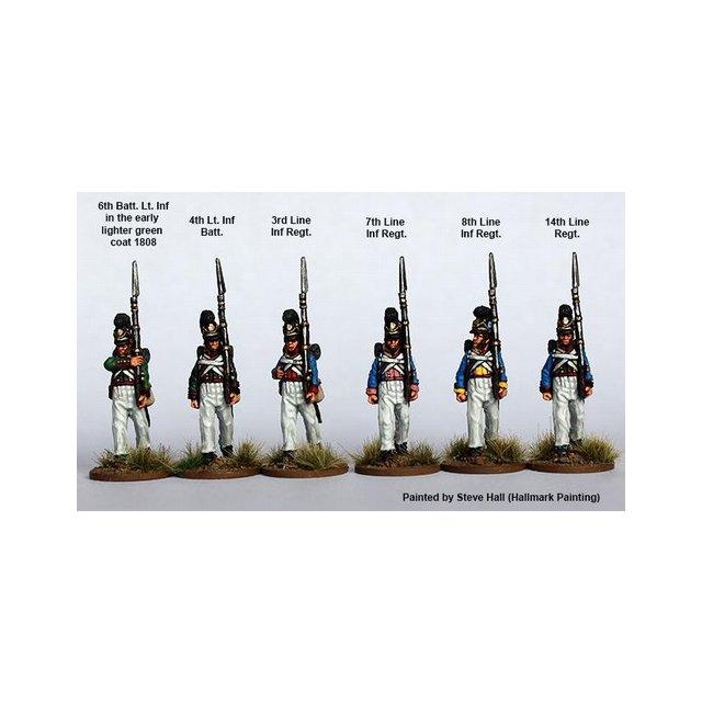 Line/Light Infantry marching