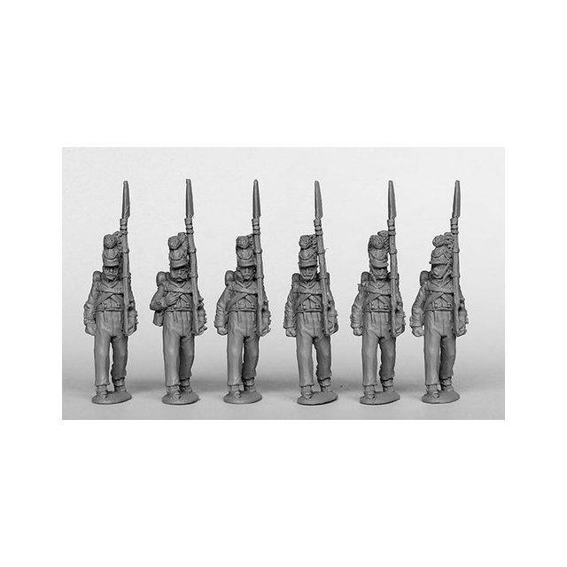 Grenadiers/Carabiniers marching