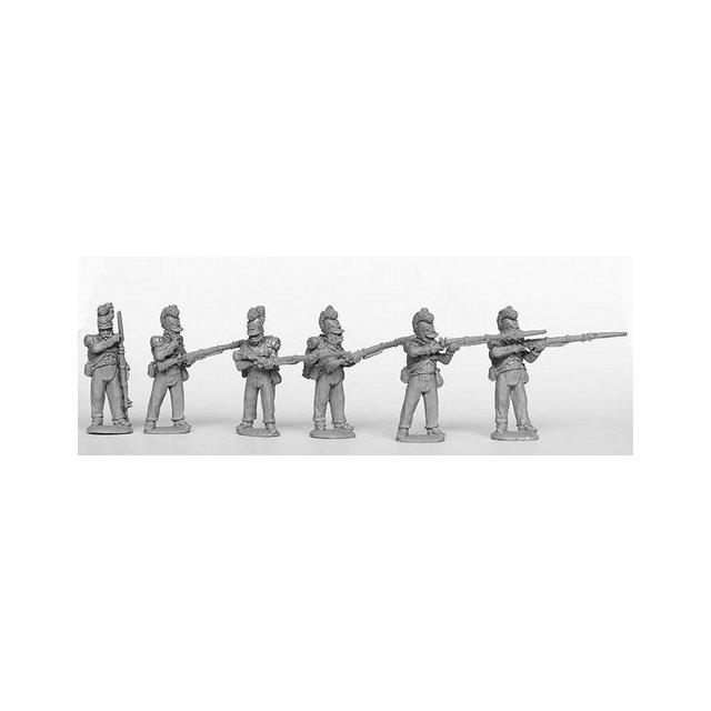 Grenadiers/Carabiniers skirmish/firing line