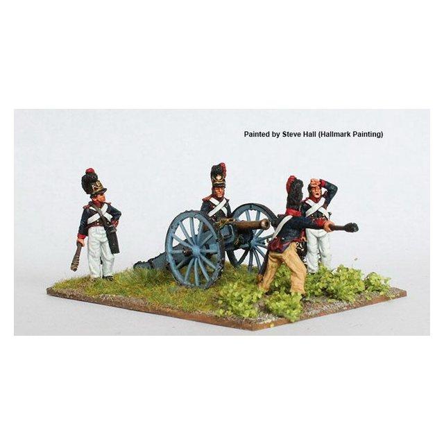 Artillery loading 6 pounder