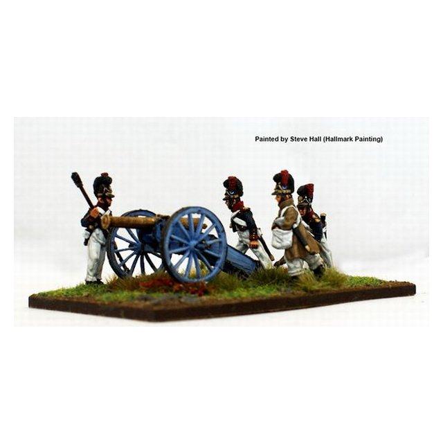 Artillery aiming 12  pounder