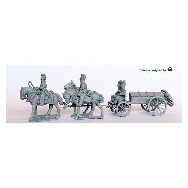 Four horse caisson