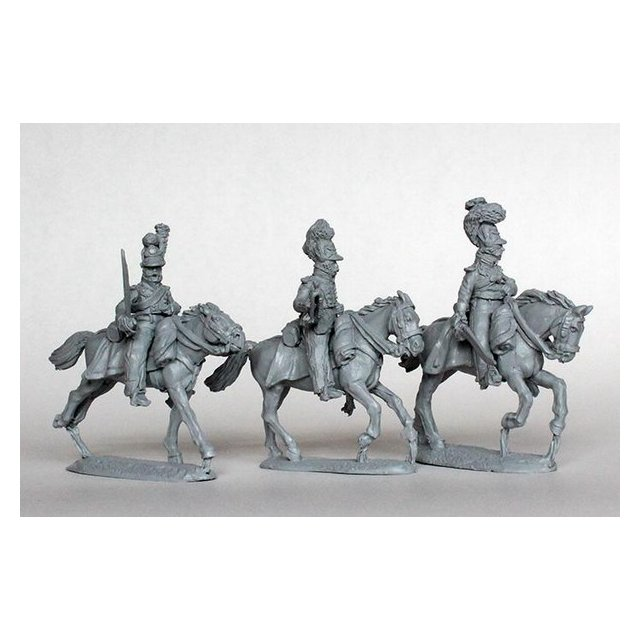 Chevauxleger Command, galloping 1809
