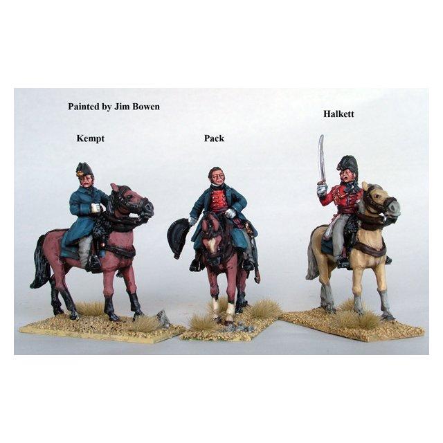 Major Generals Pack, Kempt and Halkett