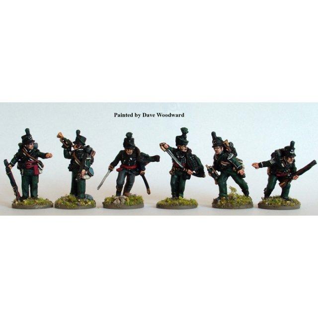 British 95th Rifles command