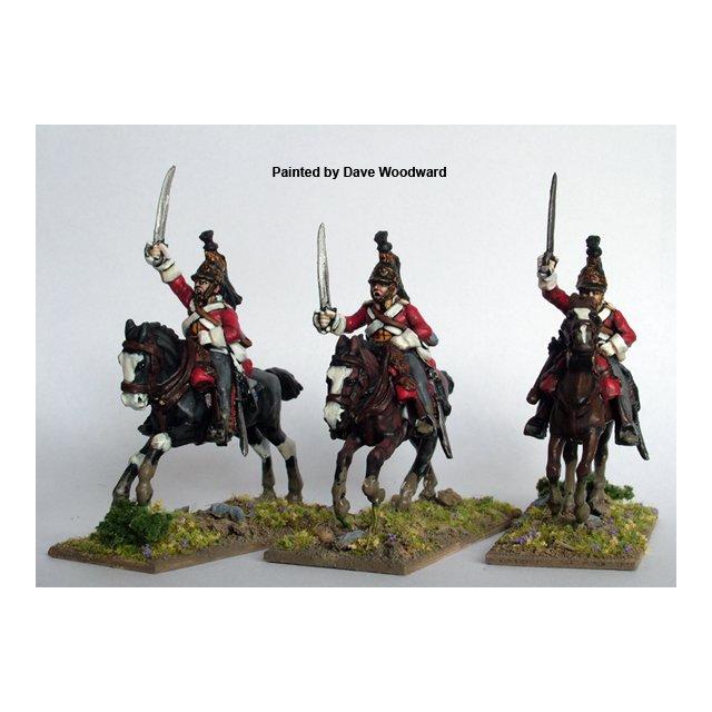 British Heavy Dragoons / Dragoon Guards charging