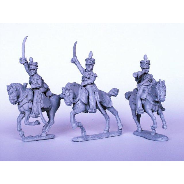 British Light Dragoon Command galloping