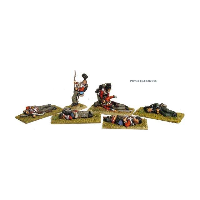 British infantry casualties