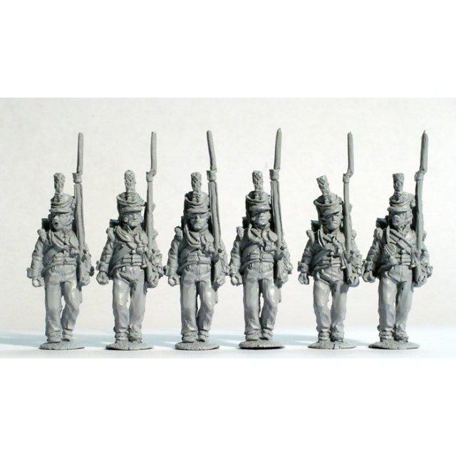 Hanoverian militia (Osterode battalion) advancing