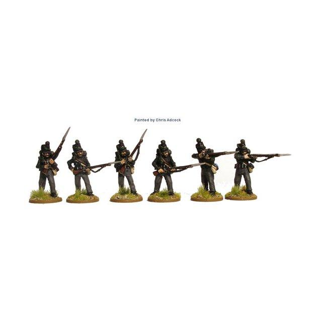 K.G.L. 2nd Light Battalion firing line/skirmishing with muskets