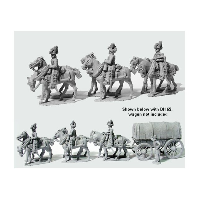 Six horse team of Drivers (ohne Fuhrwerk)
