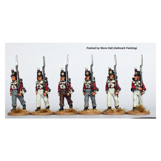 Infantry, centre companies, marching 1808-14
