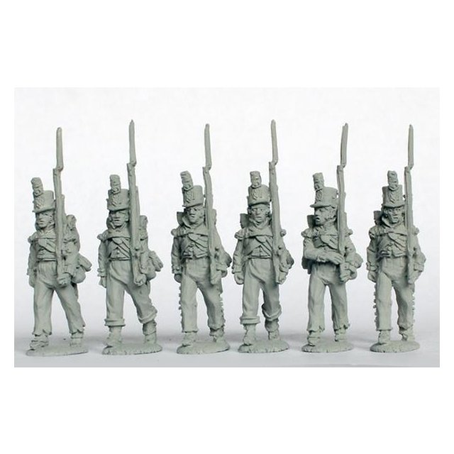 Flank companies marching 1808-14