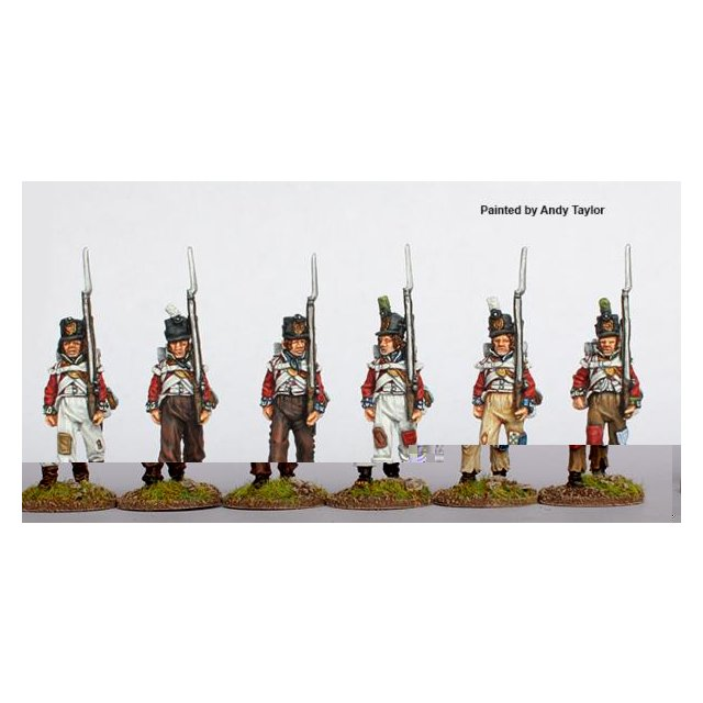 Ragged Flank companies marching 1808-14
