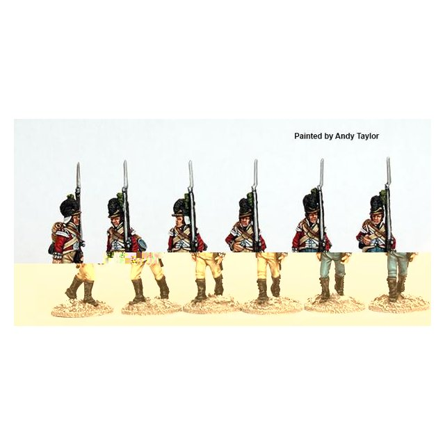 90th Regt. marching in Tarletons marching 1801 (Egypt)