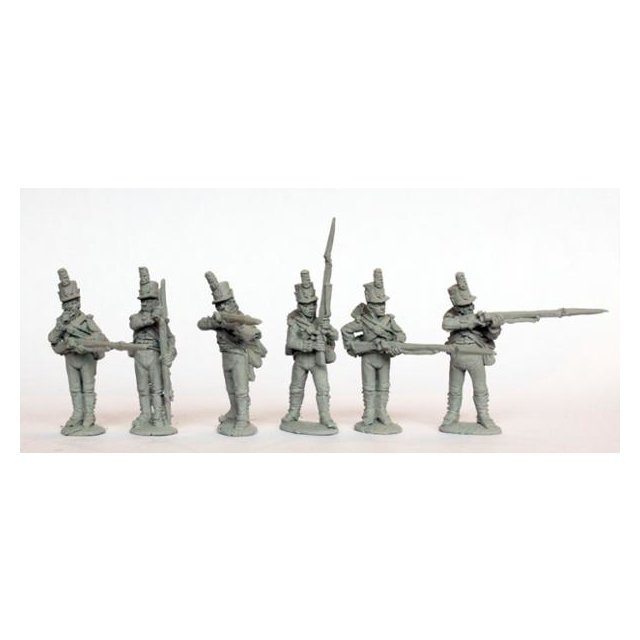 Centre companies firing line shakos, 1801-07 (Worldwide)