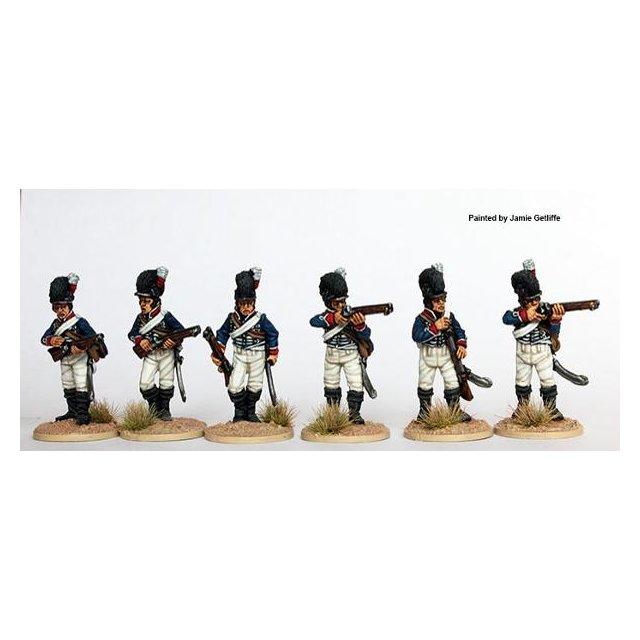 Dismounted Light Dragoons skirmishing 1808-12