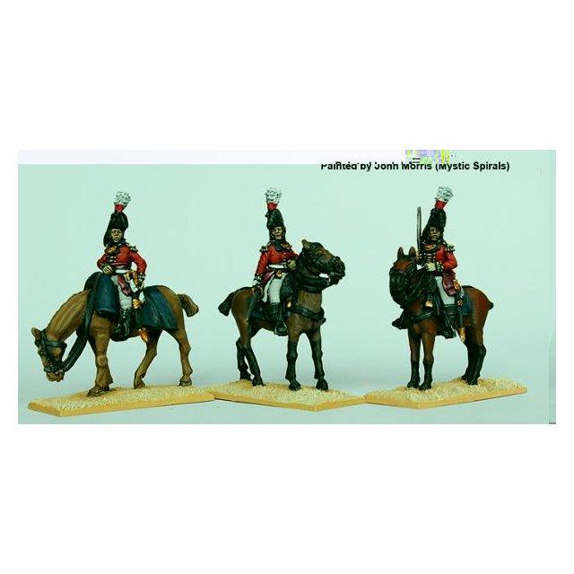 Colonels in bicornes, queues, (Worldwide) 1801-07