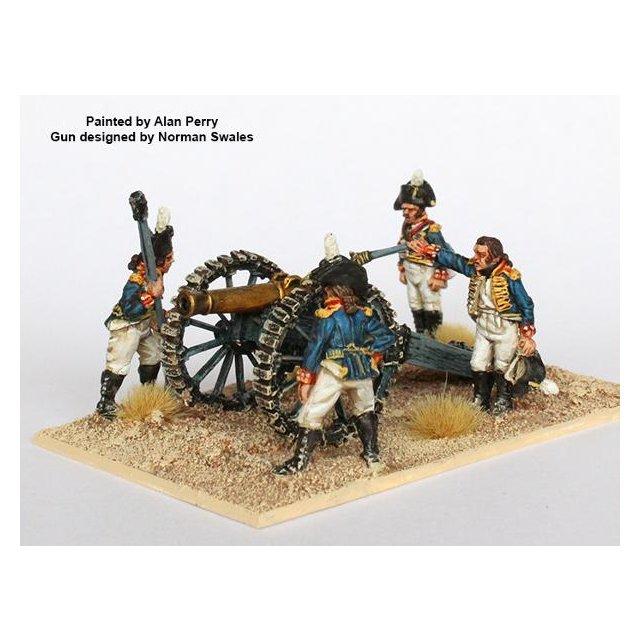 Foot Artillery firing 12 pdr, cocked hats (Egypt 1801)