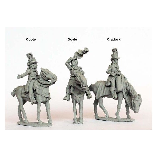 Generals for Egypt 1801 ( Coote, Doyle, Cradock)