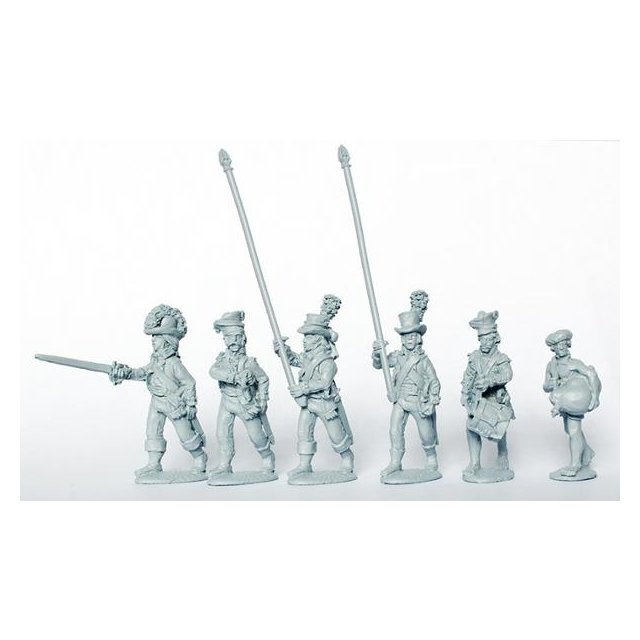 Bombay Sepoy command marching