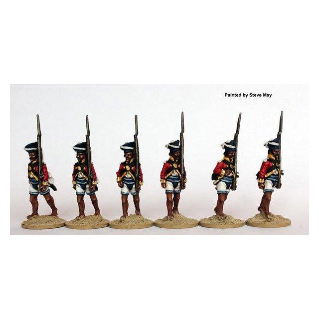 Bombay Sepoys marching