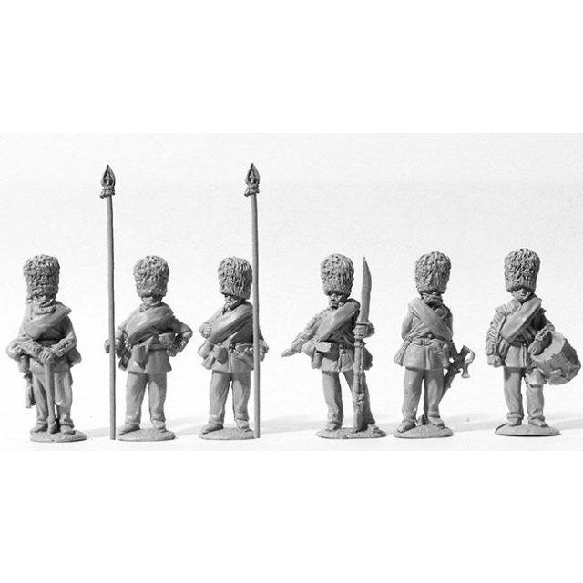 Scots Fusilier Guards command standing