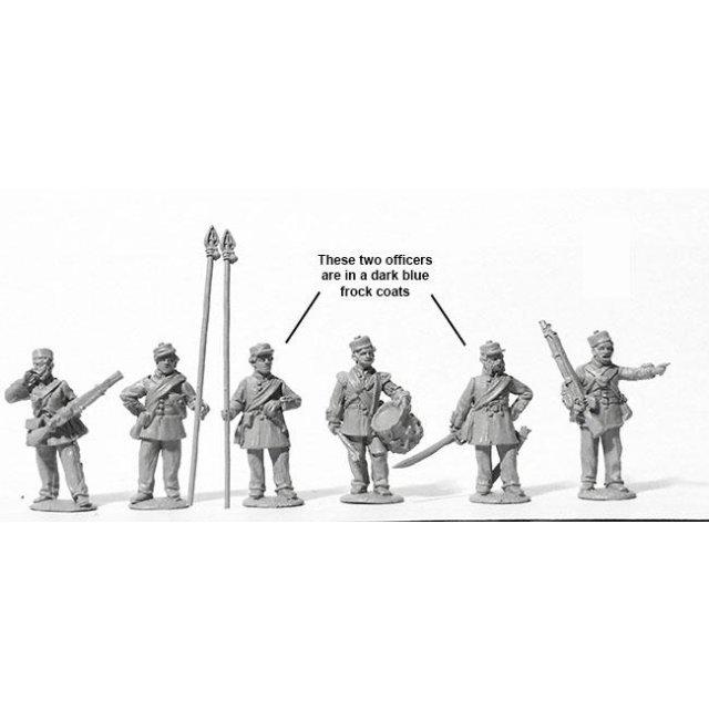 Line Infantry command standing, Kilmarnocks