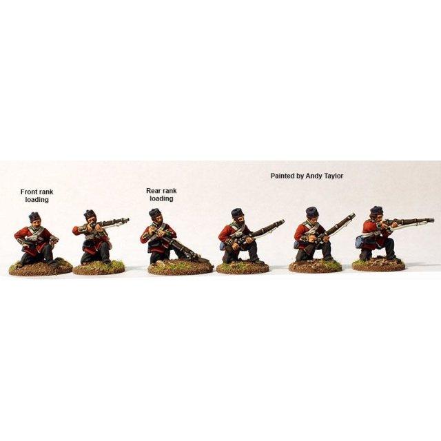Line Infantry skirmish line kneeling, Kilmarnocks