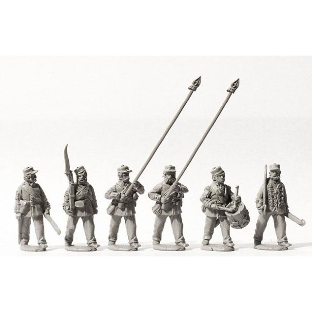 Line Infantry command marching, Kilmarnocks