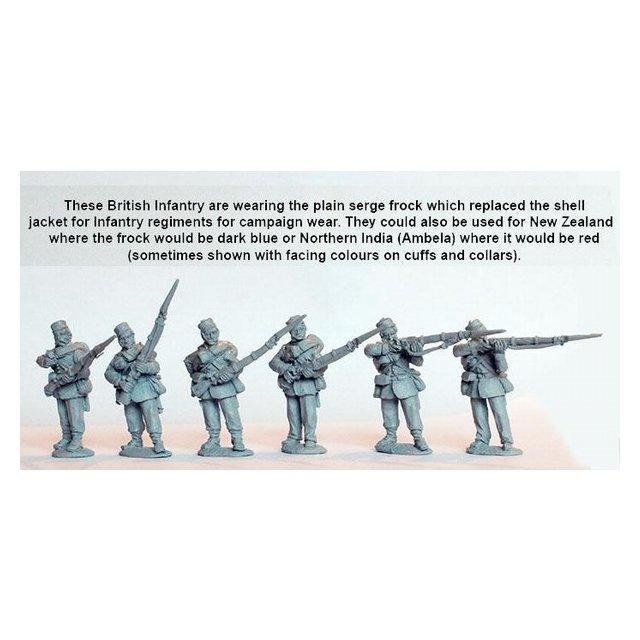 Line Infantry firing line/skirmishing, campaign dress, Kilmarnoc