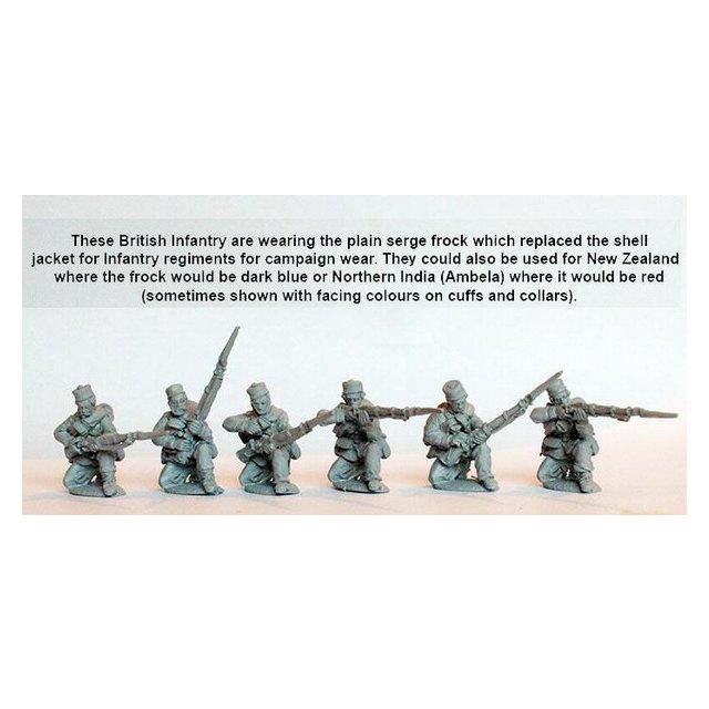 Line Infantry kneeling skirmishing, campaign dress, Kilmarnocks