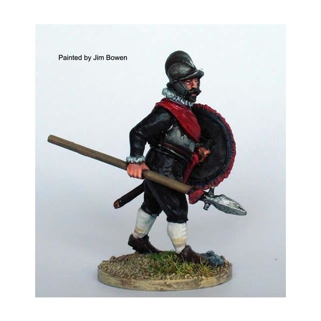 Garrison Officer advancing with half pike and shield