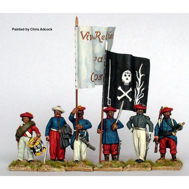 Infantry command standing
