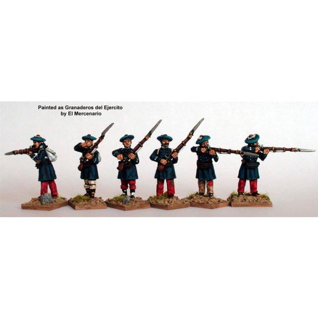 Infantry in frock coats, firing line