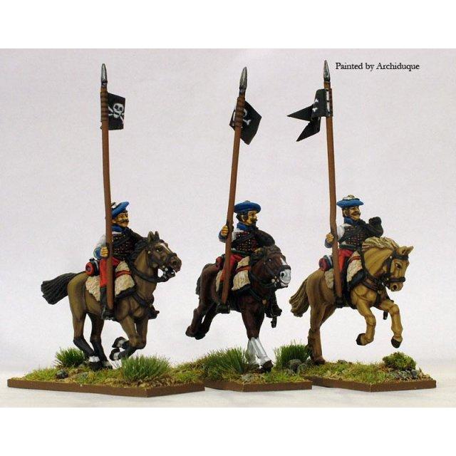 Ontoria Hussars, lance upright