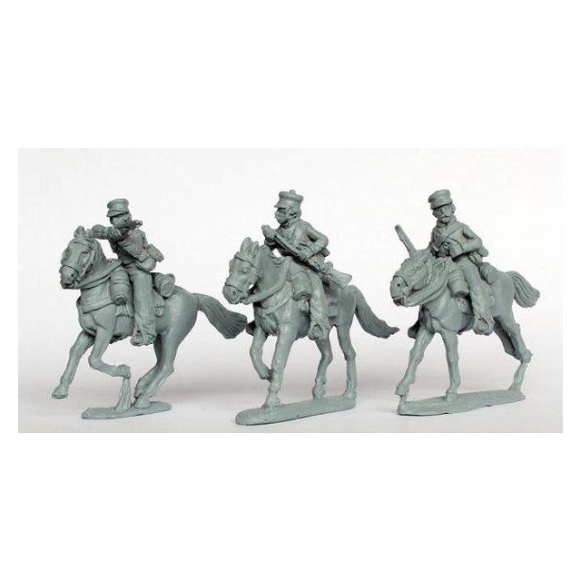 CMR, NCO troop skirmishing (mounted)