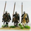 Knight Hospitaller, lance uprigh