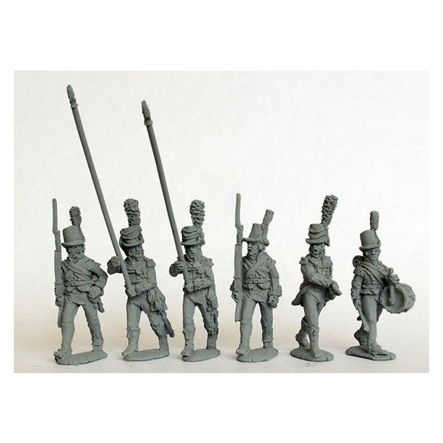 Infantry command (with two standard bearers) 1803-08
