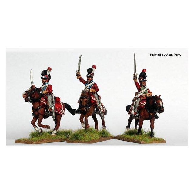 Light Dragoons charging 1812-14